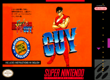 Final Fight Guy Nintendo Super NES cover artwork