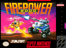 Firepower 2000 Nintendo Super NES cover artwork