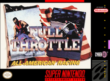 Full Throttle - All-American Racing Nintendo Super NES cover artwork