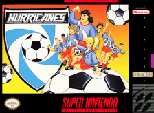 Hurricanes Nintendo Super NES cover artwork