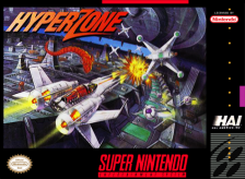 HyperZone Nintendo Super NES cover artwork