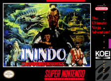 Inindo - Way of the Ninja Nintendo Super NES cover artwork