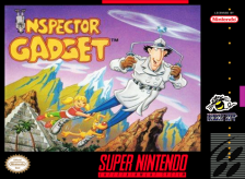 Inspector Gadget Nintendo Super NES cover artwork