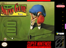 Irem Skins Game, The Nintendo Super NES cover artwork