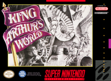 King Arthur's World Nintendo Super NES cover artwork