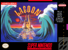 Lagoon Nintendo Super NES cover artwork
