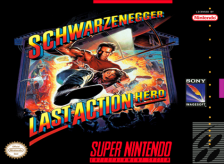 Last Action Hero Nintendo Super NES cover artwork