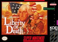 Liberty or Death Nintendo Super NES cover artwork