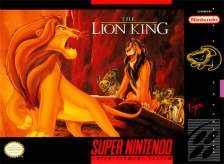 Lion King, The Nintendo Super NES cover artwork