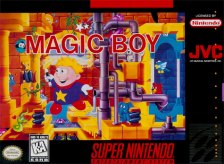 Magic Boy Nintendo Super NES cover artwork