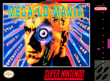 Mega lo Mania Nintendo Super NES cover artwork
