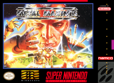 Metal Marines Nintendo Super NES cover artwork