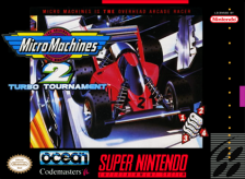 Micro Machines 2 - Turbo Tournament Nintendo Super NES cover artwork