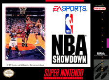 NBA Showdown Nintendo Super NES cover artwork