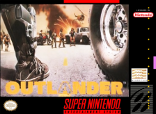Outlander Nintendo Super NES cover artwork