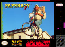 Paperboy 2 Nintendo Super NES cover artwork