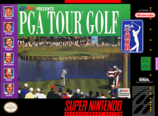 PGA Tour '96 Nintendo Super NES cover artwork