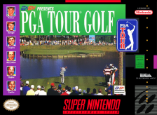 PGA Tour Golf Nintendo Super NES cover artwork