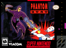 Phantom 2040 Nintendo Super NES cover artwork