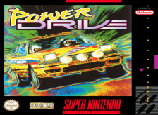 Power Drive Nintendo Super NES cover artwork