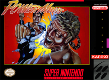 Power Moves Nintendo Super NES cover artwork