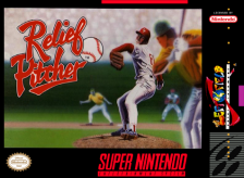 Relief Pitcher Nintendo Super NES cover artwork