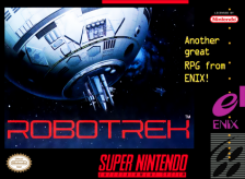 Robotrek Nintendo Super NES cover artwork