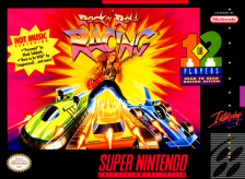 Rock n' Roll Racing Nintendo Super NES cover artwork