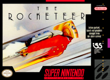 Rocketeer, The Nintendo Super NES cover artwork