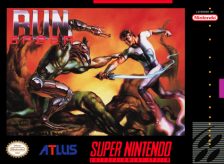 Run Saber Nintendo Super NES cover artwork