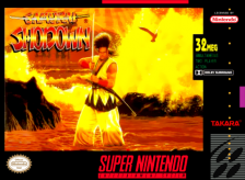 Samurai Shodown Nintendo Super NES cover artwork