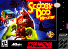 Scooby-Doo Mystery Nintendo Super NES cover artwork