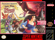 Snow White in Happily Ever After Nintendo Super NES cover artwork