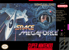 Space Megaforce Nintendo Super NES cover artwork