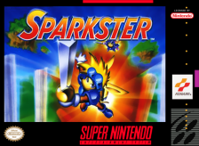 Sparkster Nintendo Super NES cover artwork