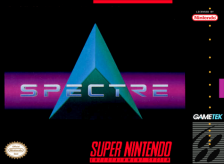 Spectre Nintendo Super NES cover artwork