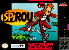 Spirou Nintendo Super NES cover artwork