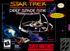 Star Trek - Deep Space Nine - Crossroads of Time Nintendo Super NES cover artwork