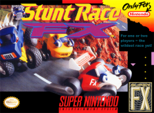Stunt Race FX Nintendo Super NES cover artwork