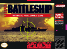 Super Battleship Nintendo Super NES cover artwork