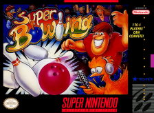 Super Bowling Nintendo Super NES cover artwork