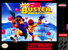Super Buster Bros. Nintendo Super NES cover artwork