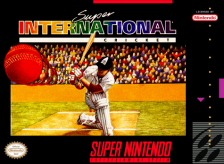 Super International Cricket Nintendo Super NES cover artwork