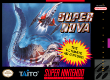 Super Nova Nintendo Super NES cover artwork