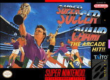 Super Soccer Champ Nintendo Super NES cover artwork