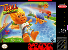 Super Troll Islands Nintendo Super NES cover artwork
