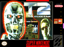 T2 - The Arcade Game Nintendo Super NES cover artwork