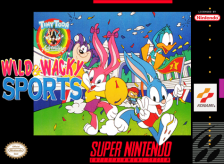 Tiny Toon Adventures - Wacky Sports Challenge Nintendo Super NES cover artwork