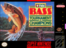 TNN Bass Tournament of Champions Nintendo Super NES cover artwork