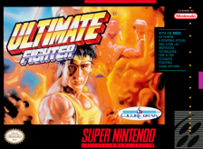 Ultimate Fighter Nintendo Super NES cover artwork